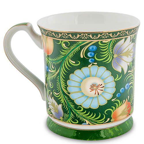 Чайный дуэт Pavone Цветочный джаз зеленого цвета, фото
