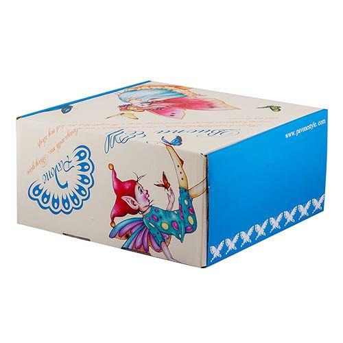 Детский набор Pavone Buona Elf из трех предметов с пиалой, фото