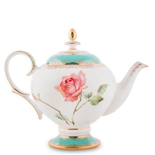 Чайный сервиз Pavone Milano Rose на шесть персон из фарфора, фото