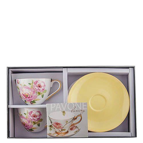 Чайный набор Pavone Torino Peony на две персоны, фото