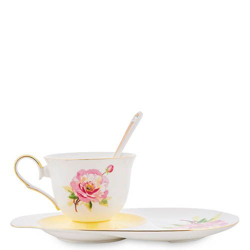 Чайная пара Pavone Torino Peony, фото