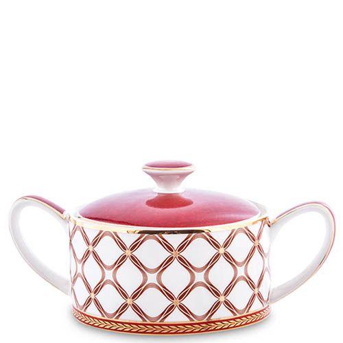Фарфоровый чайный сервиз Pavone на шесть персон Eleganza, фото
