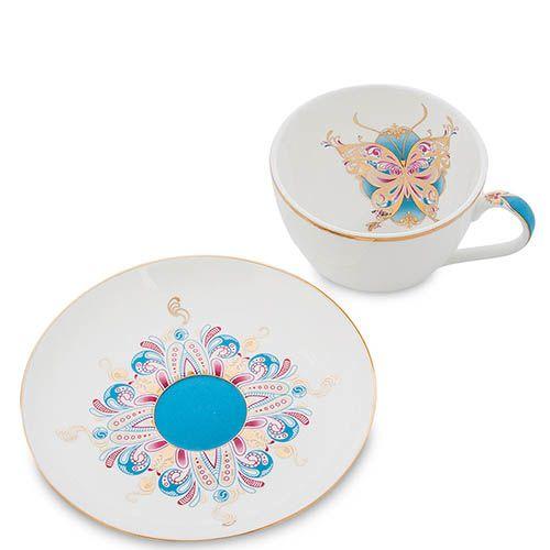 Чайный набор Pavone на четыре персоны Песня Мотылька, фото