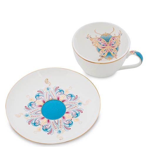 Чайный сервиз Pavone на шесть персон Песня Мотылька, фото