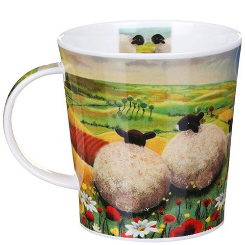 Чашка Dunoon Lomond The Sheep Poppy 0,32 л, фото