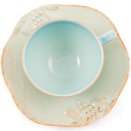 Чайная чашка с блюдцем Costa Nova Mediterranea, фото