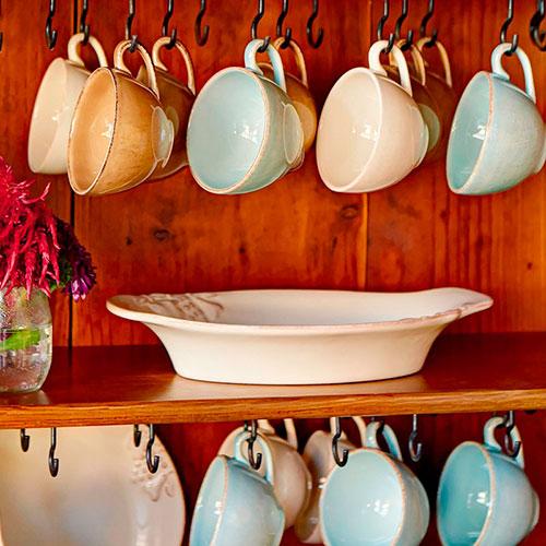 Кофейный набор на 6 персон Costa Nova Mediterranea из чашек и блюдец, фото