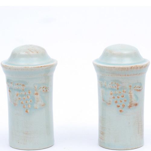Емкости для соли и перца Costa Nova Mediterranea голубые, фото