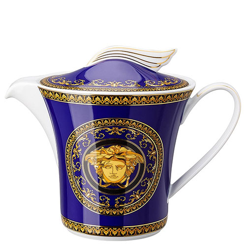 Чайный сервиз Rosenthal Versace Medusa Blau, фото