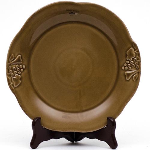 Набор из 6 тарелок для салата Costa Nova Mediterranea 21см коричневого цвета, фото