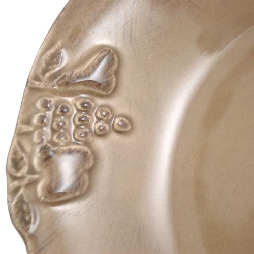 Тарелка для супа Costa Nova Mediterranea коричневая 570мл, фото
