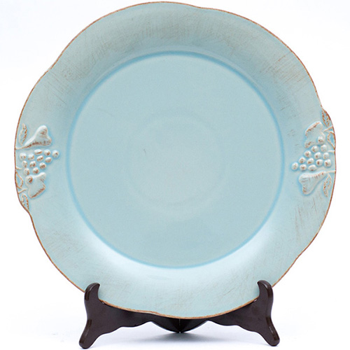 Блюдо Costa Nova Mediterranea 34см голубого цвета, фото