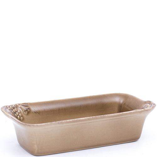 Закусочная тарелка Costa Nova Mediterranea 20x9x5см коричневая, фото