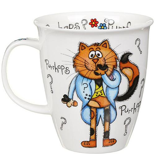 Чашка Dunoon Nevis Purrfect Cats Purrfume 0.48 л, фото