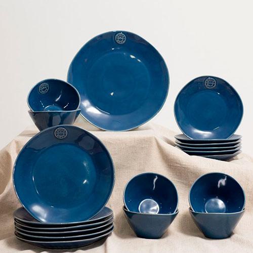 Набор керамических блюд Costa Nova Nova круглой формы 6 шт, фото