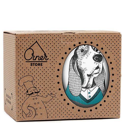 Чашка Orner Store Собака-дворецкий, фото