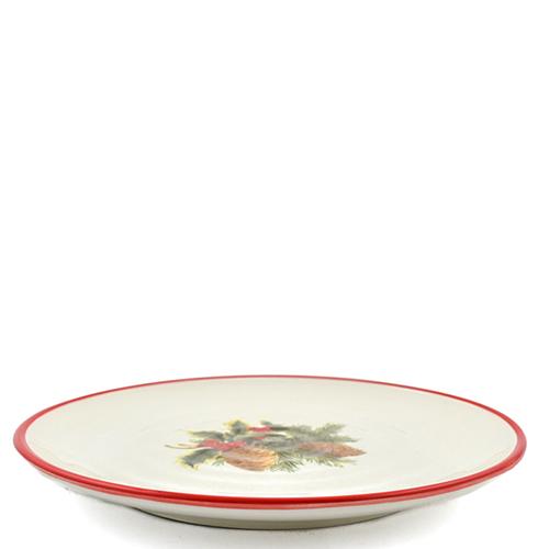 Набор тарелок для салата Villa Grazia Зимний букет на 6 персон, фото