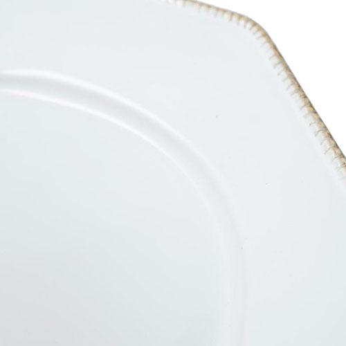 Блюдо Costa Nova Luzia белое 41см, фото