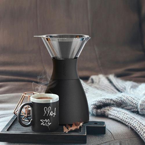 Кофеварка Asobu Pour Over в черном цвете, фото