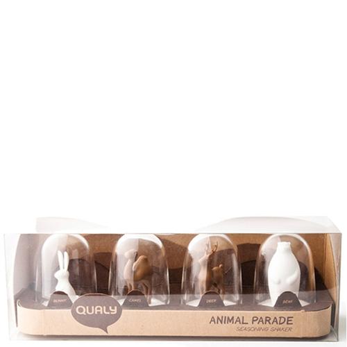 Набор для хранения специй Qualy Animal Parade, фото