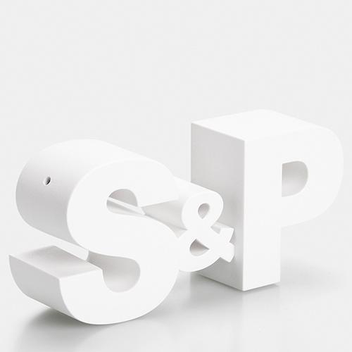Набор для соли и перца Qualy S&P белый, фото