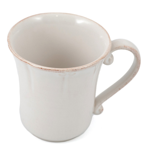 Белая чашка Costa Nova Barroco 320мл, фото