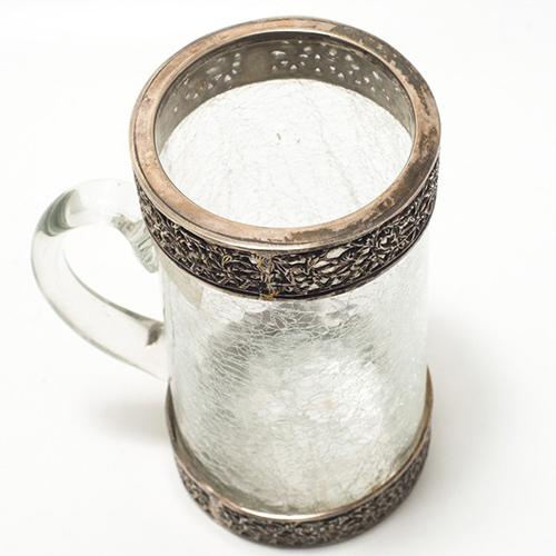 Чашка Royal Family с декоративным эффектом трещин, фото