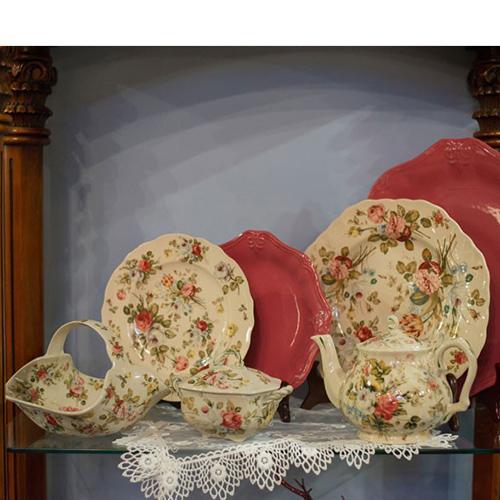 Тарелка глубокая Royal Family Sweet England в стиле Прованс, фото