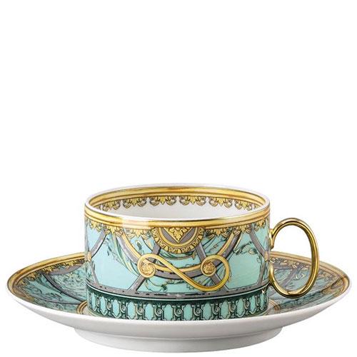 Чайный сервиз Rosenthal Versace Scala Palazzo Verde, фото