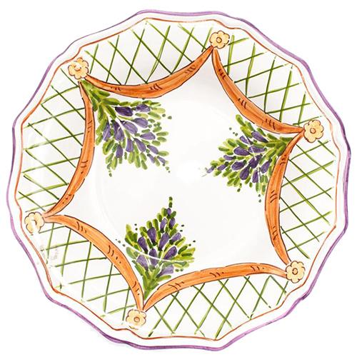 Набор тарелок L'Antica Deruta Glicine, фото