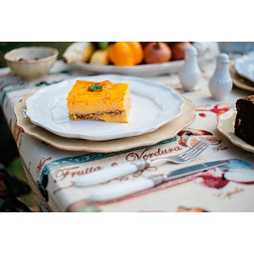 Набор обеденных тарелок Costa Nova Impressions белого цвета на 6 персон, фото