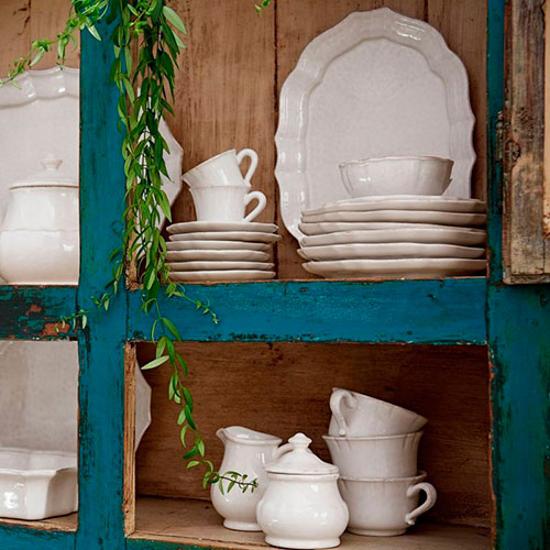 Белая пиала Costa Nova Impressions из керамики, фото