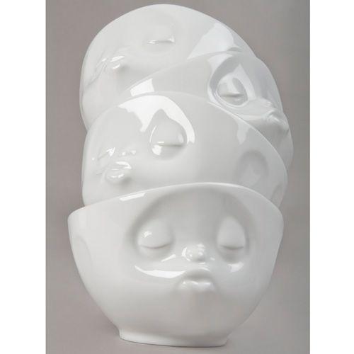 Пиала Tassen Kissing белая глянцевая, фото