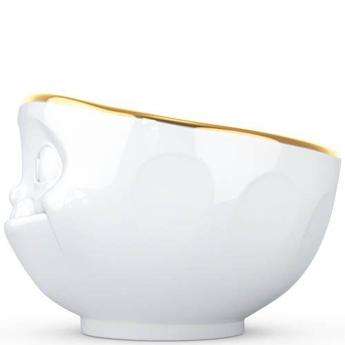 Пиала Tassen Tasty белая с золотой каёмкой, фото