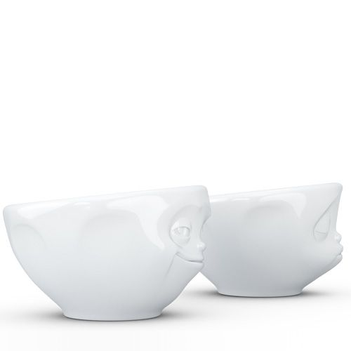 Набор Tassen Kissing Grinning из двух белых пиал по 100 мл, фото