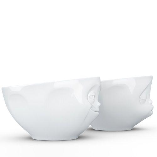 Набор Tassen Kissing Grinning из двух белых пиал по 200 мл, фото