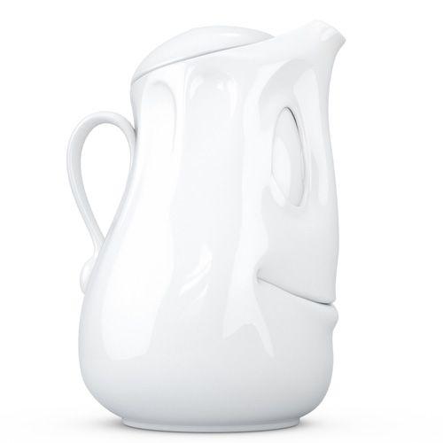 Заварочный чайник Tassen белый фарфоровый, фото