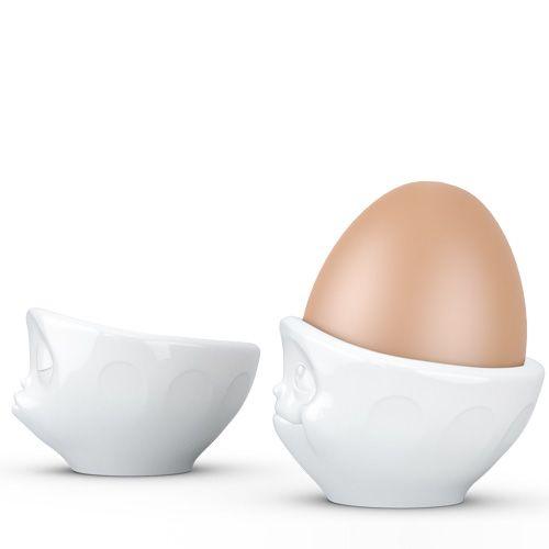 Набор Tassen Kissing Dreamy из двух белых подставок для яиц, фото