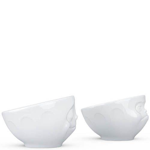 Набор Tassen Happy & Hmpff  из двух белых подставок для яиц, фото