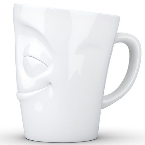 Чашка Tassen Cheery глянцевая белая, фото