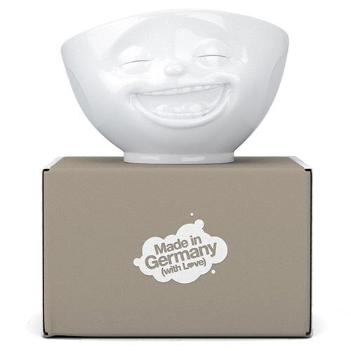 Белая пиала Tassen Laughing из фарфора, фото