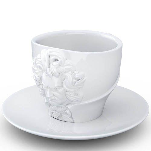 Чашка с блюдцем Tassen Ludwig van Beethoven, фото