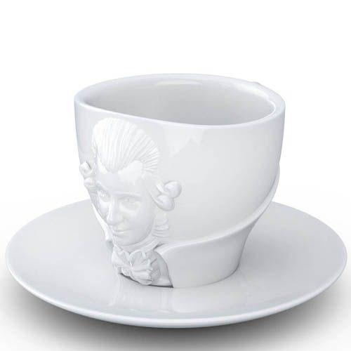 Чашка с блюдцем Tassen Wolfgang Amadeus Mozart, фото