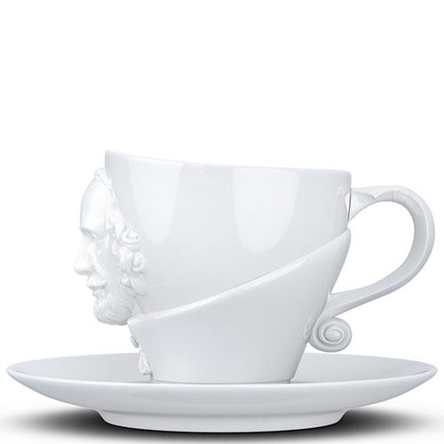 Чашка с блюдцем Tassen William Shakespeare, фото