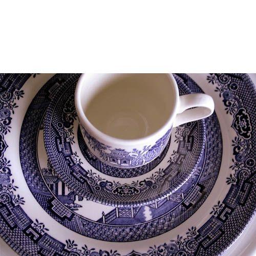 Набор столовый Churchill Blue Willow, фото