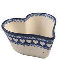 Форма для выпечки торта Ceramika Artystyczna в виде сердца, фото