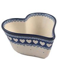 Форма для выпечки Ceramika Artystyczna в виде сердца, фото