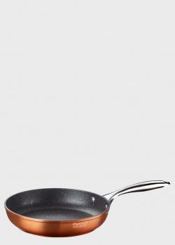 Оранжевая сковородка Pinti Materic 24см, фото