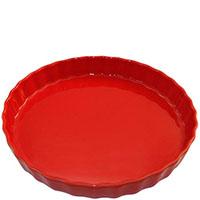 Круглая керамическая форма для пирога Appolia красного цвета , фото