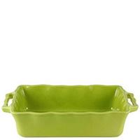 Керамическая форма Appolia 42х26см зеленого цвета с ручками, фото